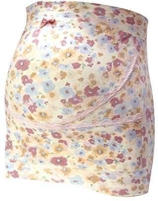 Narue (ナルエー) - Rosemadame ナルエーコラボ 妊婦帯【フラワー柄】Narue M-Lサイズ ピンク 117-7925-01