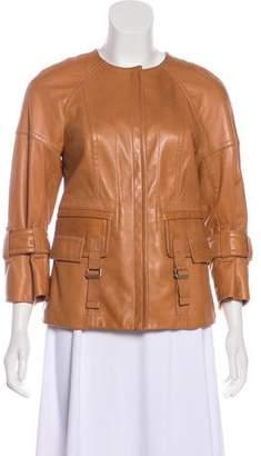 Kaufman Franco KAUFMANFRANCO Leather Casual Jacket