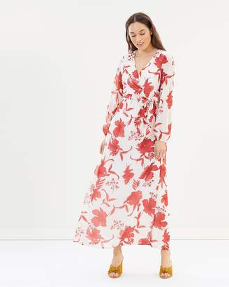 Dorothy Perkins Longline LS Maxi Dress