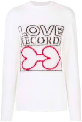 Aalto Love Records rollneck jumper
