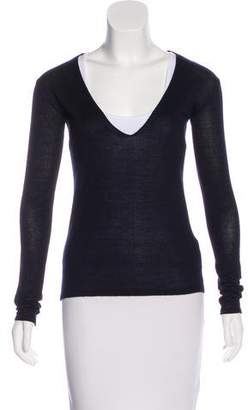 Calvin Klein Collection Cashmere & Silk-Blend Sweater