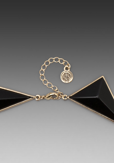 House Of Harlow Pyramid Collar