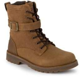UGG Boy's Leather Combat Boots