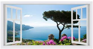 Amalfi by Rangoni Window Stretched Canvas