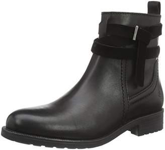 Marc O'Polo Women's Flat Heel Bootie Kalt Lined Ankle Boots Black Size:
