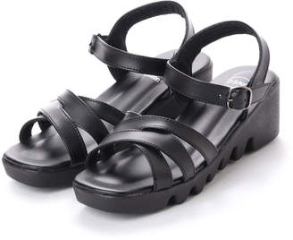 Dr. Scholl's (ドクター ショール) - ドクター ショール Dr.Scholl Dr.Scholl Double Crossed Belt Sandals