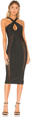 superdown Nicole Keyhole Bodycon Dress