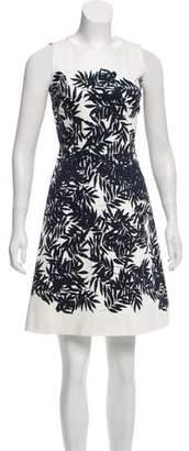 Peter Som Printed A-Line Dress