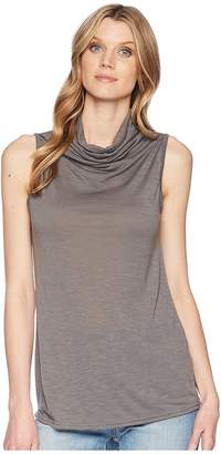 Roper 1566 1X1 Rib Cowl Neck Tank Women's Clothing