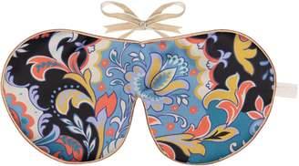Holistic Silk Pure Mulberry Silk Lavender Eye Mask Ashina Liberty Print