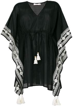 Tory Burch embroidered kaftan