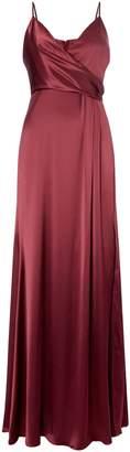 Jill Stuart V neck satin dress
