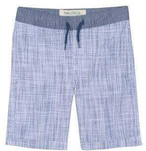 Boy's Textured Drawstring Shorts