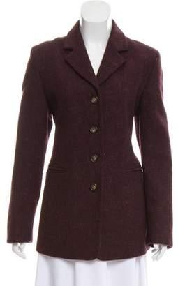 Max Mara Weekend Wool Patterned Jacket