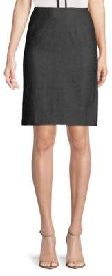 philosophy High-Rise Cotton Pencil Skirt