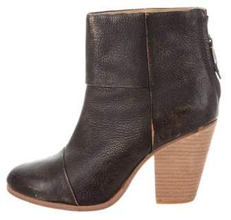 Rag & Bone Harrow Distressed Leather Ankle Boots