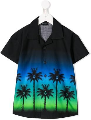 Marcelo Burlon County of Milan Kids palm print shirt