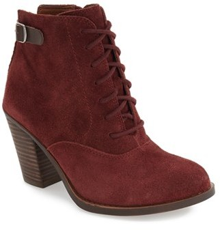 Women's Lucky Brand 'Echoh' Lace-Up Bootie $148.95 thestylecure.com