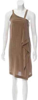 Isabel Benenato Asymmetrical Silk Dress w/ Tags