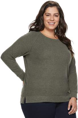 Sonoma Goods For Life Plus Size SONOMA Goods for Life Supersoft Scoopneck Top