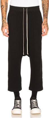 Rick Owens Drawstring Cropped Trouser