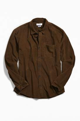Urban Outfitters Long Sleeve Corduroy Dress Shirt