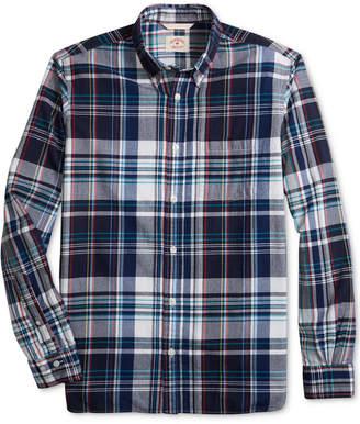 Brooks Brothers Men's Madras Plaid Slim Fit Shirt