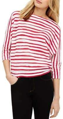 Phase Eight Brinley Brushstroke Striped Batwing Jumper