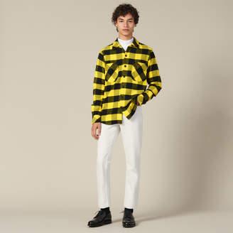 Sandro Checked Cotton Shirt