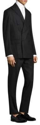 Polo Ralph Lauren Slim-Fit Brushed Stripe Morgan Suit