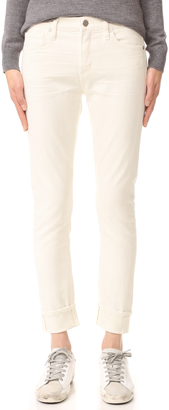 Citizens of Humanity Jazmin Cuffed Slim Straight Jeans $218 thestylecure.com