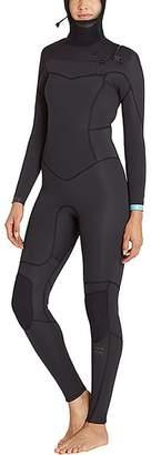 Billabong 5/4 Synergy EZ Chest Zip Hooded Wetsuit - Women's