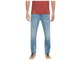 U.S. Polo Assn. Stretch Slim Jeans with Destroy in Blue Men's Jeans