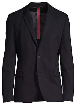 HUGO Men's Shoulder Detail Jacket