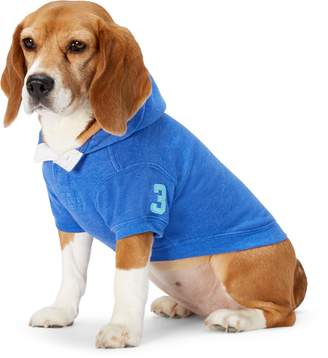 Ralph Lauren Cotton-Blend Dog Hoodie
