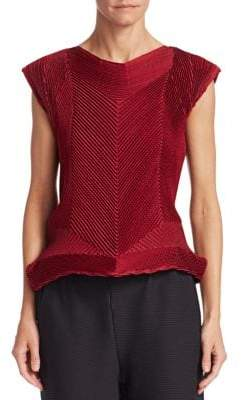 Issey Miyake Seed Stretch Top