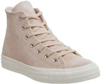 e03ecb9af288 Converse Hi Leather Trainers Particle Beige Driftwood Egret Exclusive