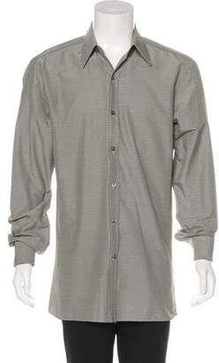 Tom Ford Woven French Cuff Shirt