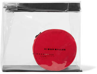 Simon Miller Lunchbag 30 Leather-trimmed Pvc Clutch - Clear