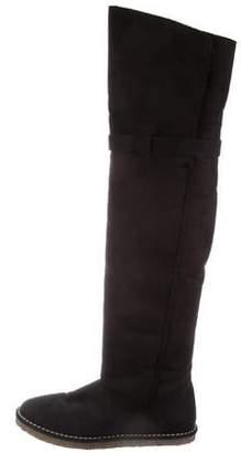 Stella McCartney Vegan Over-The-Knee Boots