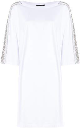 Amen oversized embellished T-shirt