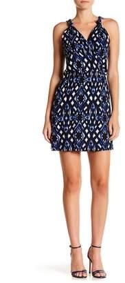 Loveappella Printed Sleeveless A-Line Dress