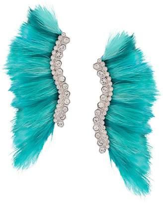 Mignonne Gavigan oversized wings earrings