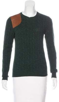Ralph Lauren Wool and Cashmere-Blend Sweater