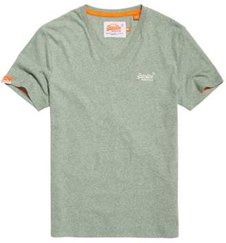 Superdry Vintage Embroidered V-neck T-shirt