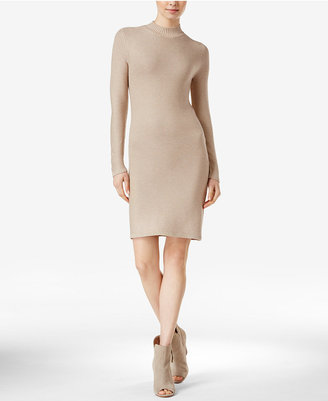 kensie Ribbed Bodycon Sweater Dress $99 thestylecure.com