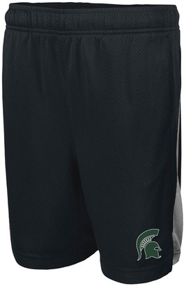 Nike Youth Black Michigan State Spartans Franchise Shorts
