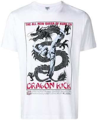 Kenzo kung foo print T-shirt