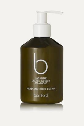 Bamford Jasmine Hand & Body Lotion, 250ml - Colorless