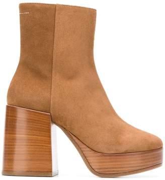 MM6 MAISON MARGIELA platform ankle boots